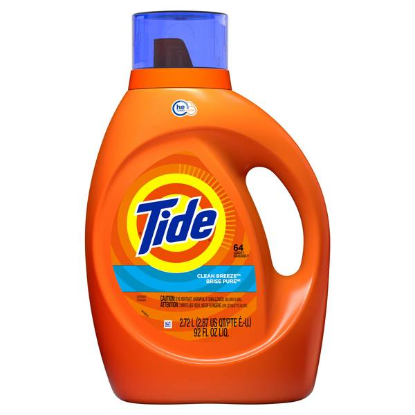 Tide High Efficiency Clean Breeze Laundry Soap