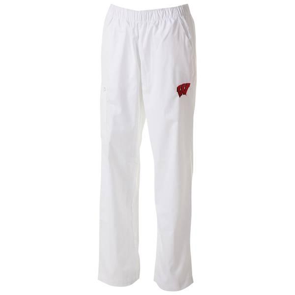 Misses White UW Cargo Scrubs Pants