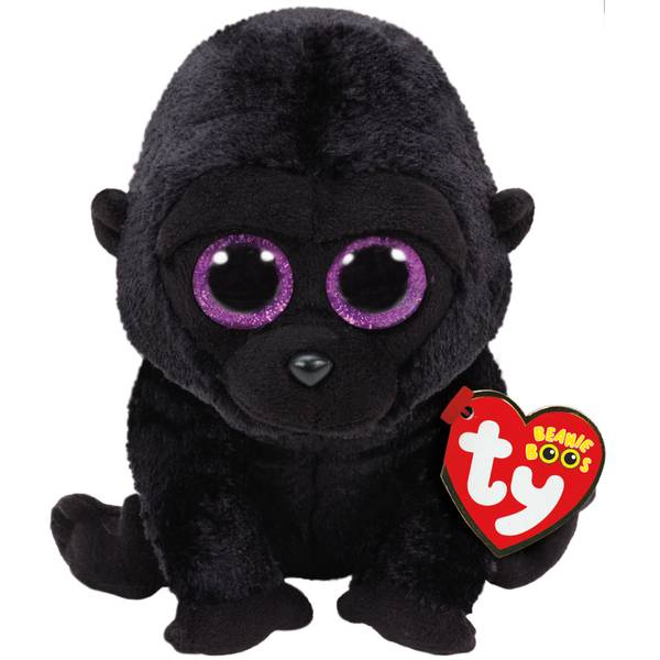 Beanie Boo Reg George the Black Gorilla