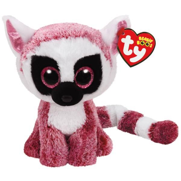 Beanie Boo Reg Leanne the Pink Lemur