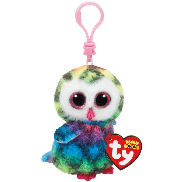 Ty Beanie Boo Clip Owen the Owl 08797c93967