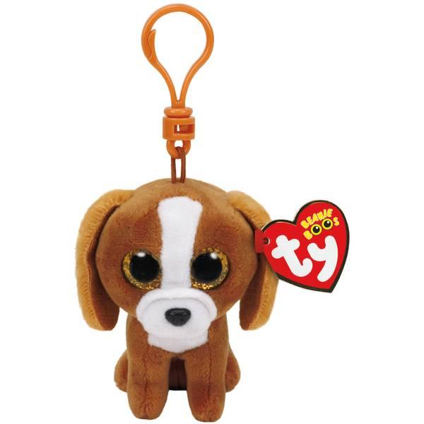 Beanie Boo Clip Tala the Brown Dog