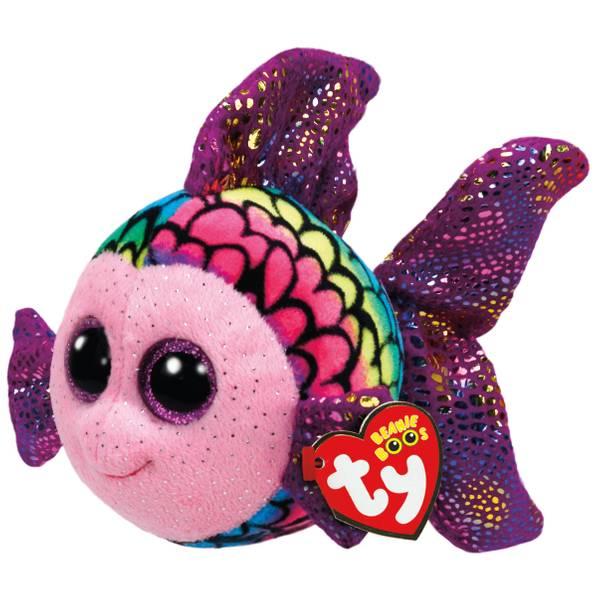 Beanie Boo Reg Flippy the Multi Fish