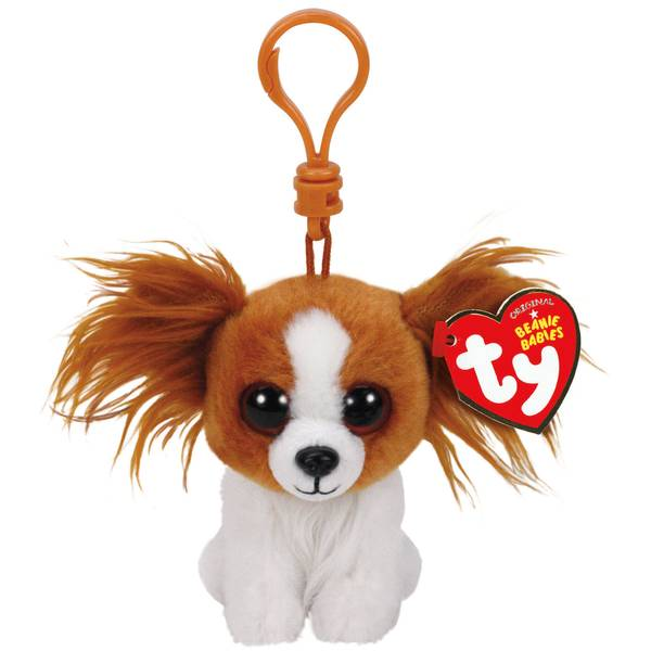 Beanie Baby Clip Barks the Brown Dog
