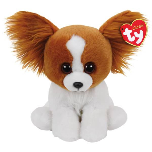Beanie Baby Med Barks the Brown Dog