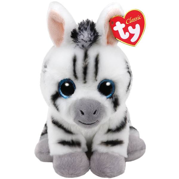 Beanie Baby Med Stripes the Zebra