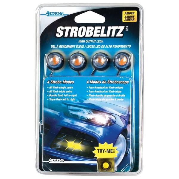 StrobeLitz Amber Automotive Light