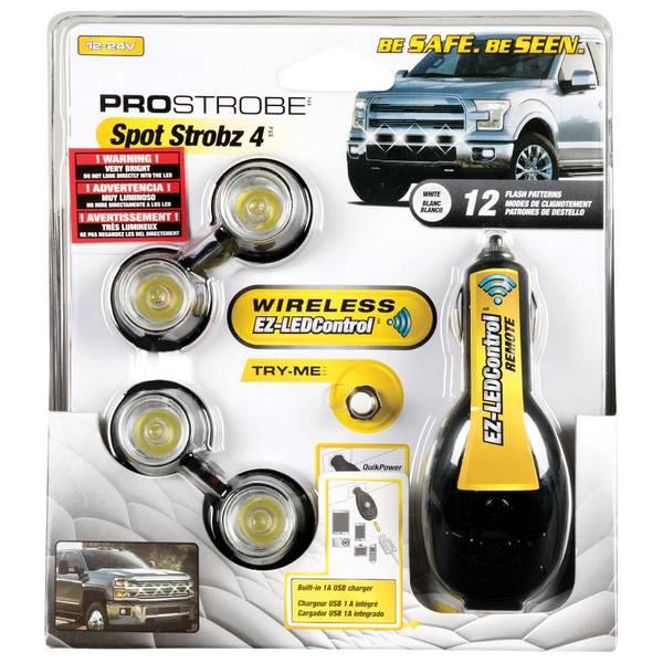 Pro Strobe LED White Automotive Light