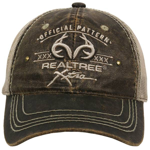 Outdoor Cap Men's Realtree Logo Meshback Cap