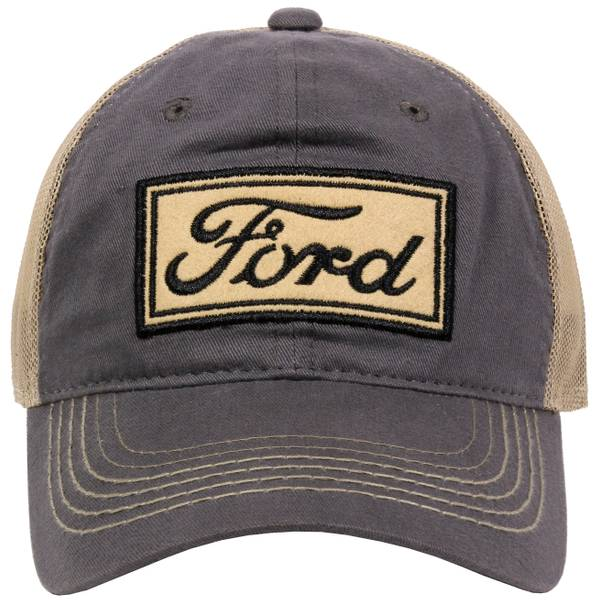 Men's Ford Logo 2-Tone Unstructured Cap