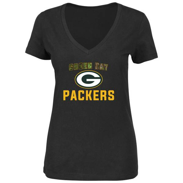 Misses Green Bay Packers Camo Shirt