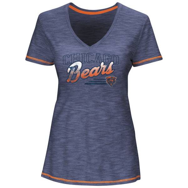 Misses Chicago Bears N-Neck Slub Jersey