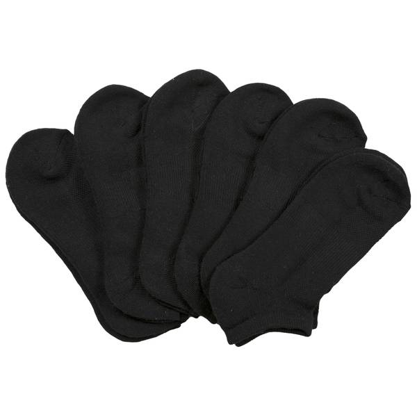 Women's No Show Tech Socks - 6 Pairs