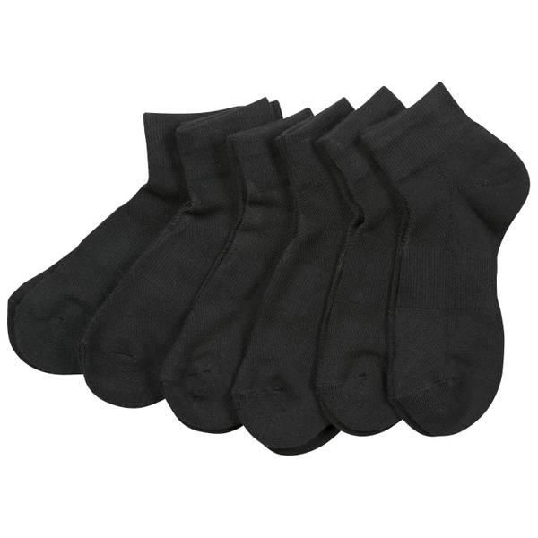 Women's Quarter Tech Socks - 6 Pairs
