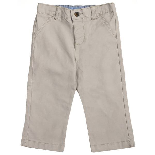 Baby Boys' Khaki Kenny Flat Front Jeans