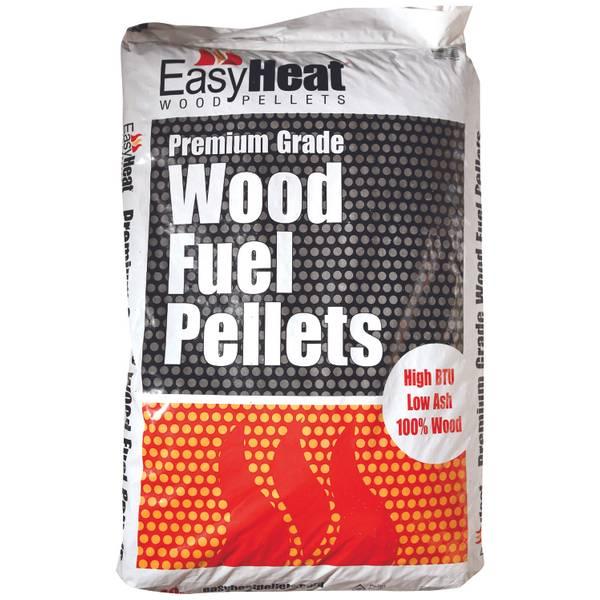 Easy Heat Premium Grade Wood Fuel Pellets 40lb - PELLET ...