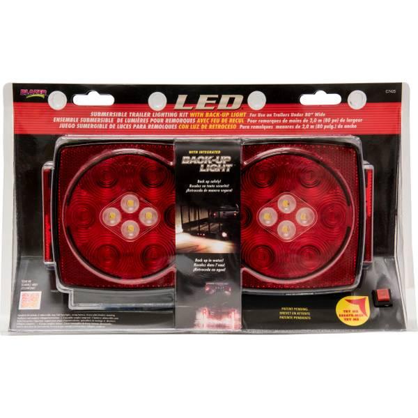 LED Submersible Trailer Light Kit