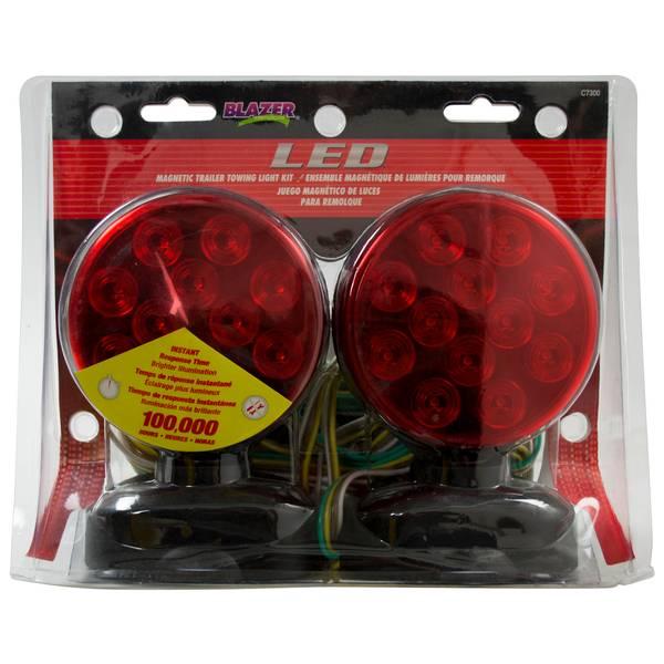 LED Magnetic Trailer Towing Light Kit