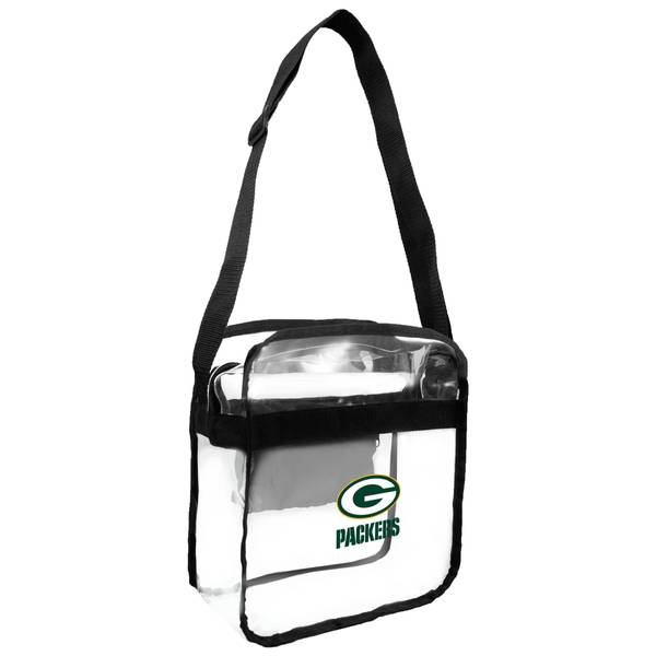 Green Bay Packers Clear Carryall Crossbody Bag