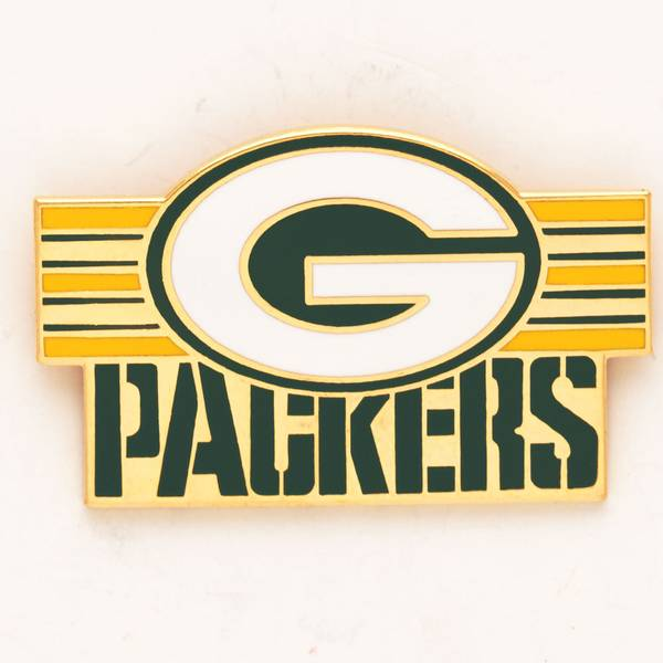 Green Bay Packers Logo Pin