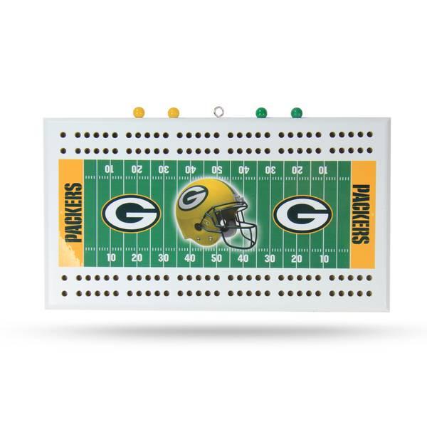 Green Bay Packers Field Cribbage Board
