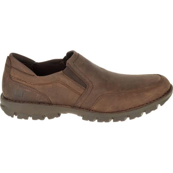 Men's Dark Brown Grayson Full Grain Leather Slip-On Shoes