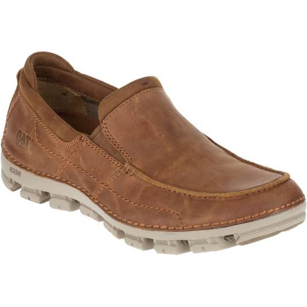 Men's Brown Relente Full Grain Leather Slip-On Shoes