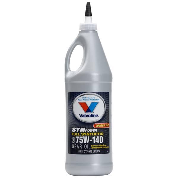 SynPower Full Synthetic  75W - 140 Gear Oil