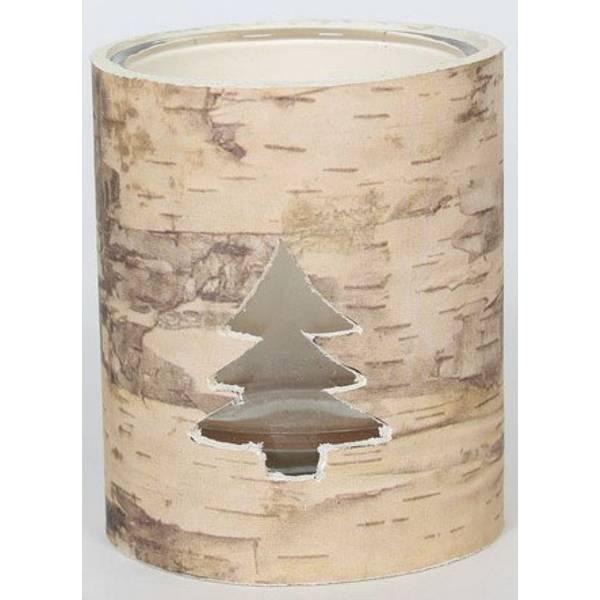 """3.5"""" Rustic Candleholder"""