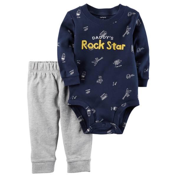Baby Boys' Long Sleeve Bodysuit