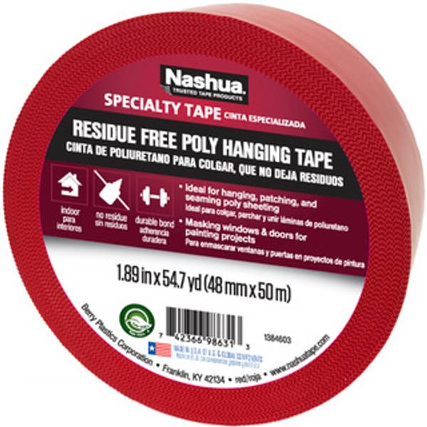 Residue-Free Poly Hanging Tape