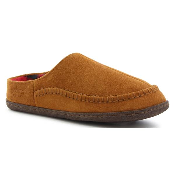 Men's Cypress Flannel Open Heel Slippers