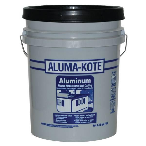 Aluma Kote Fibered Mobile Home Roof Coating