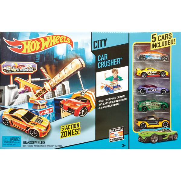 Car Crusher Play Set
