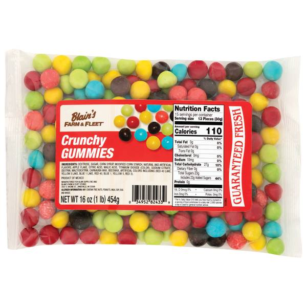 16oz Crunchy Gummis
