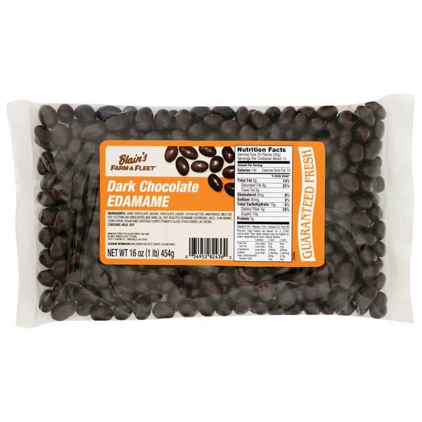 16oz Dark Chocolate Edamame