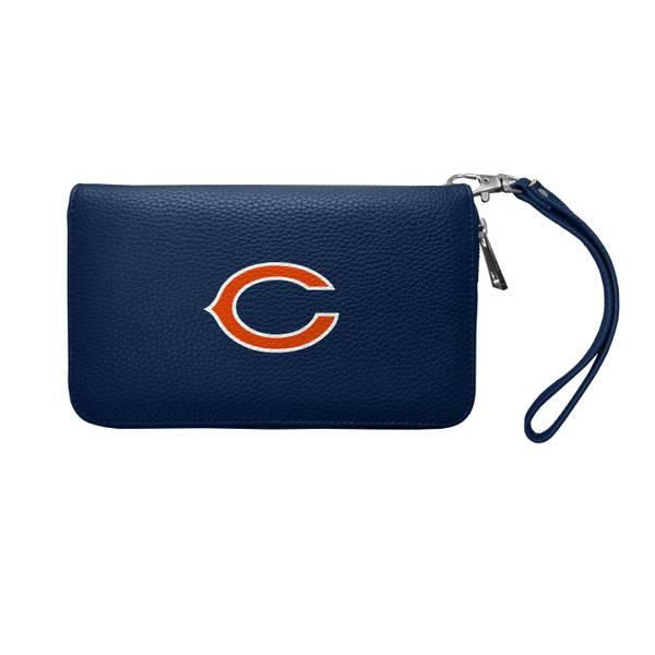 Chicago Bears Zip Organizer Pebble Wallet