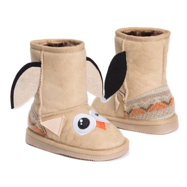 Kids' Uno The Owl Slippers
