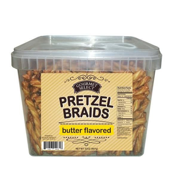 32 oz Butter Braided Pretzel Tub