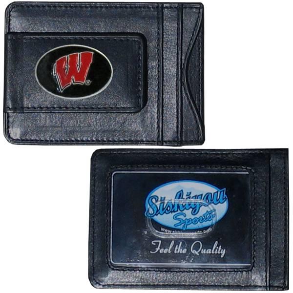 Wisconsin Badgers Cash & Card Holder