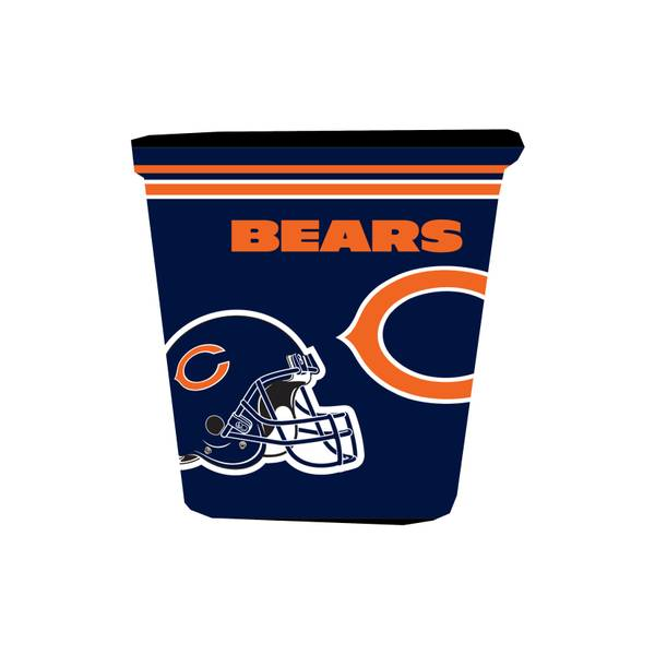 Chicago Bears Trash Can Skin