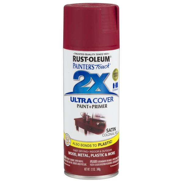 Painter's Touch Ultra Cover 2X Satin Spray Paint