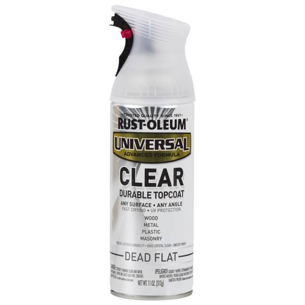 Rust Oleum Universal Durable Top Coat Spray