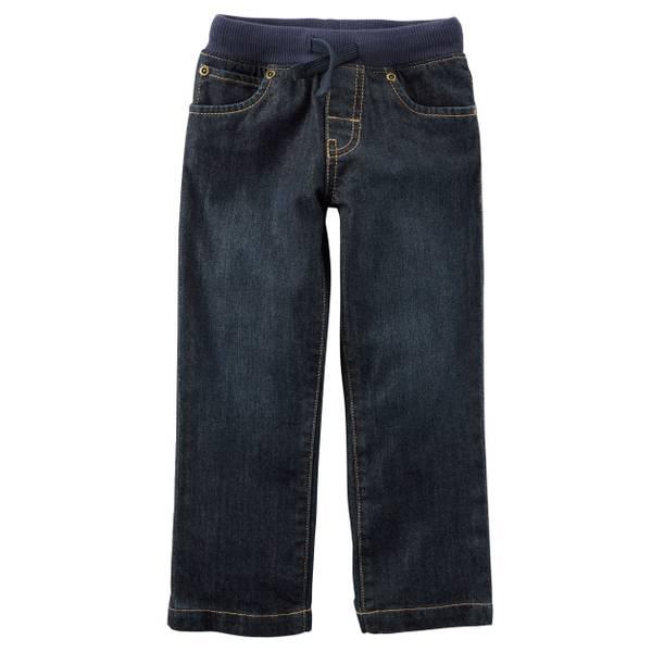 Toddler Boys' Knit Waistband Jeans