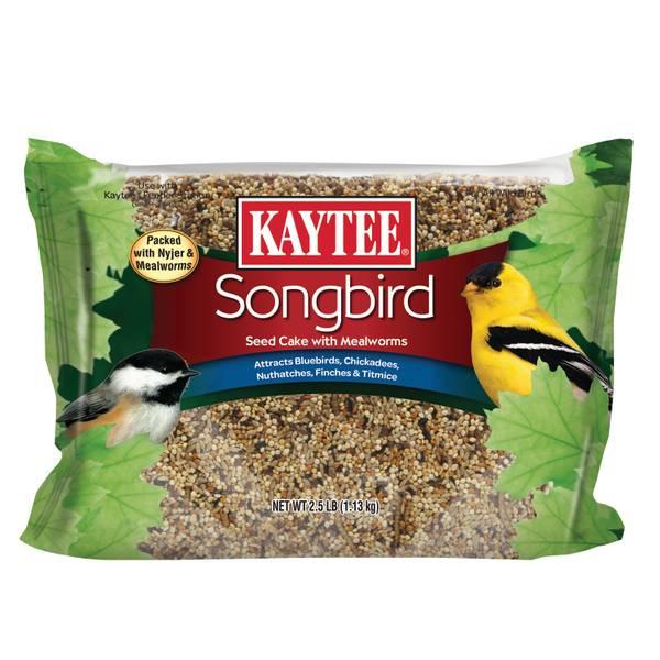 Songbird Mealworm Cake