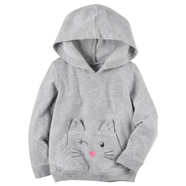 Toddler Girls' Pink Character Hoodie