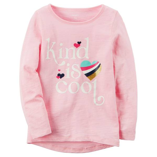 Girls' Long-Sleeve HiLo Tee