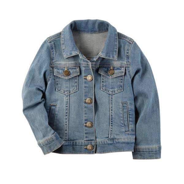 Toddler Girl's Blue Denim Jacket