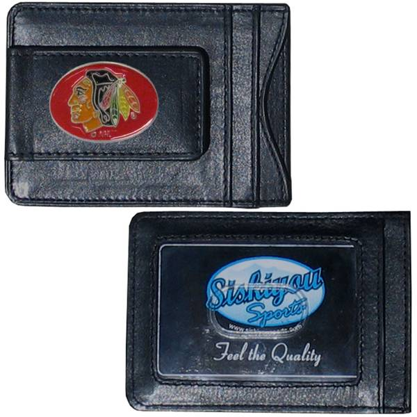 Chicago Blackhawks Cash & Card Holder