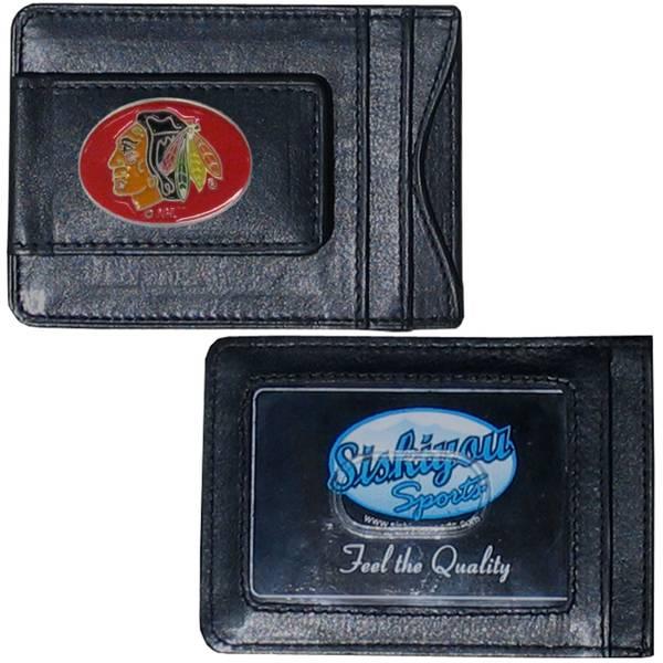 Chicago Blackhawks Cash & Card Holder